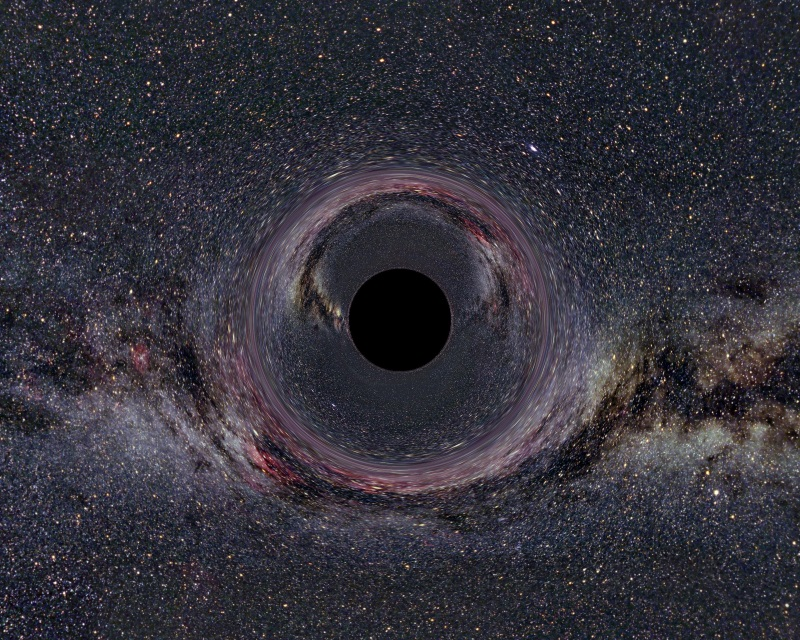 a hole in space