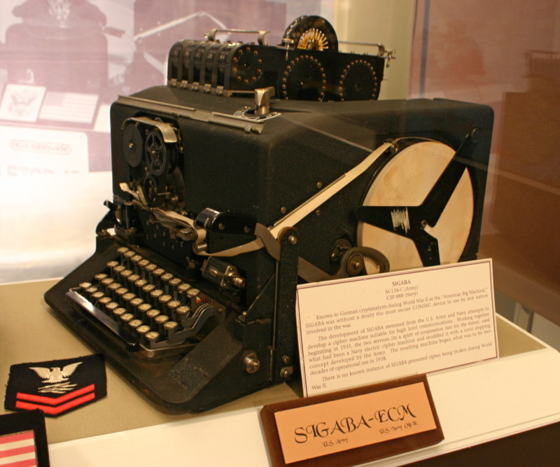 SIGABA / ECM Mark II telecipher machine