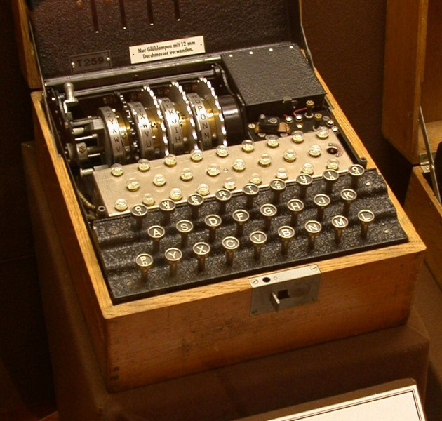 4-rotor Enigma cipher machine